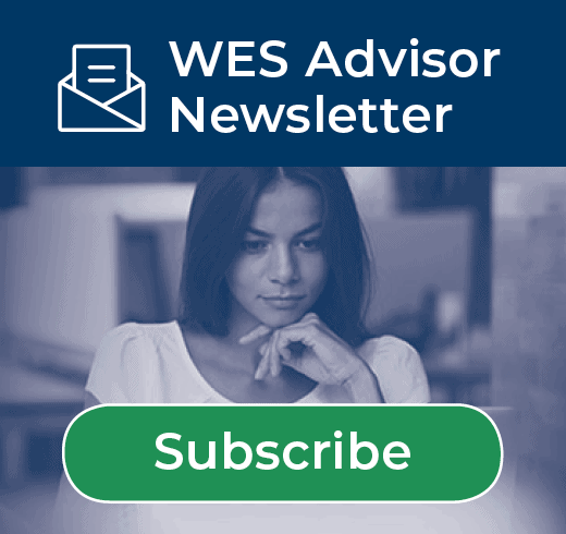 Subscribe to the Wes Advisor