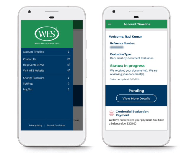 Download the WES Mobile App