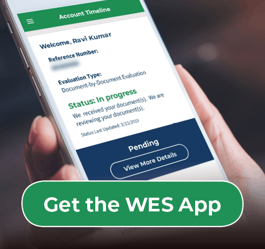Download the WES APP